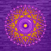 Peter Barreda - osholo Purple mandala