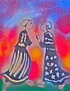 Oshun And Yemaya Print by Tony B Conscious