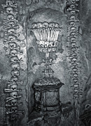 Ossuary Sedlec - Chalace Print by Gregory Dyer