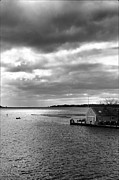 Storm Clouds Cape Cod Framed Prints - Osterville 2 Framed Print by Keith Woodbury