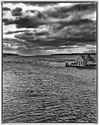Storm Clouds Cape Cod Framed Prints - Osterville Framed Print by Keith Woodbury