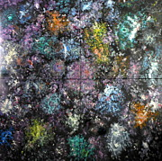 Nebulae Painting Originals - Other Dimensions by David Mintz