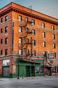 Spokane Prints - Otis Hotel Sunset Print by Daniel Baumer