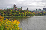 Ottawa Framed Prints - Ottawa Scenic View Framed Print by Charline Xia
