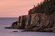 Acadia National Park - Otter Cliff at Dawn by Juergen Roth