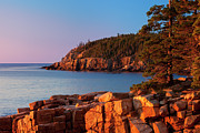 Mt.desert Island Prints - Otter Cliffs Maine Print by Brian Jannsen