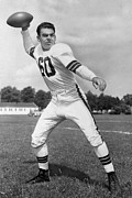 Touchdown Posters - Otto Graham NFL Legend Poster Poster by Sanely Great