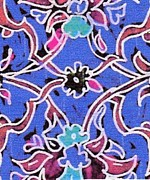 Beautiful Tapestries - Textiles Prints - Ottoman design Print by Duygu Kivanc