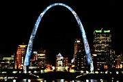 Stl Prints - Our beautiful city Print by James Byrd