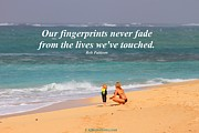 Pattison Framed Prints - Our fingerprints never fade Framed Print by Pharaoh Martin