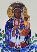 Our Lady Of Czestochowa Print by Barbara McMahon
