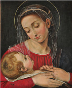 Images Paintings - Our Lady of Divine Providence by Terry Sita