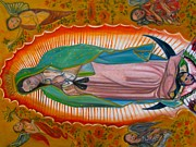 Our Lady Of Guadalupe Painting Originals - Our Lady Of Guadalupe by Pacifico Palumbo