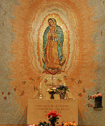 Our Lady Of Guadalupe Framed Prints - Our Lady of Guadalupe Framed Print by Philip Ralley