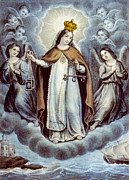 Our Lady Of Mercy Circa 1856  Print by Aged Pixel