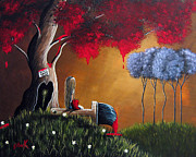 Surreal Art Paintings - Our Place by Shawna Erback by Shawna Erback