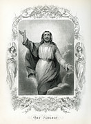 Forgiveness Prints - Our Saviour  1873 Print by Daniel Hagerman