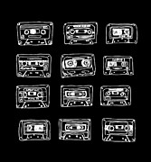Mixtape Prints - Our Song Print by Budi Satria Kwan