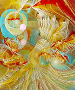 Fractal Pastels - Our Souls Expand by Gayle Odsather