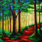 Original Paintings - Out For A Walk by Lori McPhee