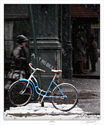 Lar Matre Framed Prints - Out for aN ice Ride Framed Print by Lar Matre