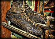 Antique Skates Prints - Out of Ice Print by Francis Riley