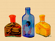 Bottled Prints - Out of Place Print by Anthony Caruso