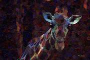 Spots  Digital Art - Out of the Darkness by Mary Machare
