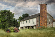 Pennsylvania Barns Digital Art - Out to Pasture by Lori Deiter