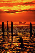 Dan Carmichael - Out to Sea at Sunrise - Outer Banks I