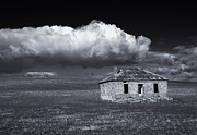 Ruin Metal Prints - Outback Ruin Metal Print by Mike  Dawson