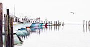 Dan Carmichael - Outer Banks Fishing Boats Sketch #4