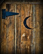 Outhouse Prints - Outhouse Door  Print by Paul Ward