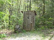 Outhouses Photos - Outhouse by Robin Sipe