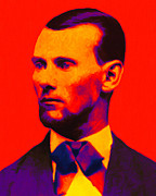 Jesse Posters - Outlaw Jesse James 20130212 Poster by Wingsdomain Art and Photography