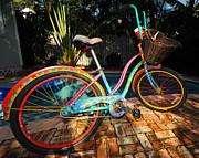 Outrageous Bike Print by Rob O'Neal