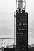 Black And White Photos Posters - Outside Looking In - Willis Tower Chicago Poster by Adam Romanowicz
