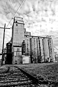 Silos Metal Prints - Outskirts Of Town Metal Print by Off The Beaten Path Photography - Andrew Alexander