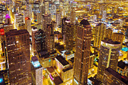 Magnificent Mile Art - Over Chicago by Joel Olives