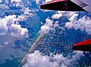 Jet Originals - Over Daytona Beach by Dennis Dugan