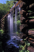 Grist Mill Prints - Over flow Print by Paul W Faust -  Impressions of Light