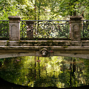 Nymphenburg Framed Prints - Over the Bridge Framed Print by Ivy Ho
