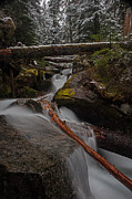 Stream Photos - Over the Edge by Mike Reid