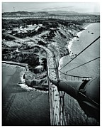 Golden Gate Framed Prints - Over the Golden Gate Framed Print by Benjamin Yeager