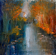 David Figielek Art - Over the lake III by David Figielek