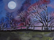 Beverly Livingstone - Over The Moon -painting