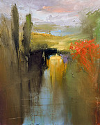 David Figielek Art - Over the river by David Figielek