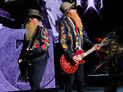 Zz Top Posters - Over The Top Poster by James Taylor