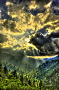 Gatlinburg Tennessee Prints - Over the Top too Print by Reid Callaway
