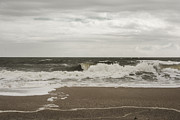 Judy Hall-Folde - Overcast and Rip Tide Warning